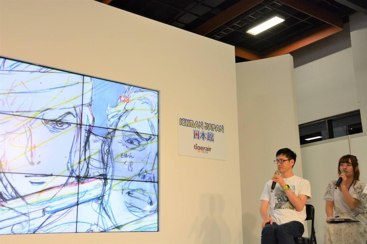 [迷迷演唱會] 2019漫博 ICHIBAN JAPAN日本館 動畫之神 後藤隆幸 現身日本館 親述「銀英」製作祕辛