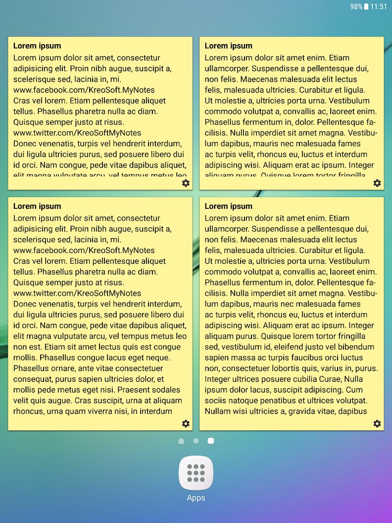 My Notes - Notepad Screenshot 15