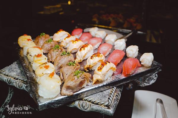 Miramar Garden Taipei 美麗信花園酒店-雨林餐廳,享受五星頂級吃到飽,天使蝦、澎湖生蠔、各式海鮮無限吃到爽!