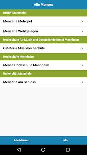 Mensa Mannheim - náhled