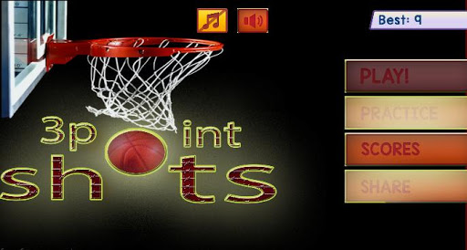 3 point shots