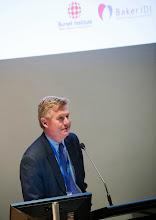 Photo: Professor Stephen Jane, Head of School, introducing the evening