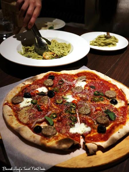 貝里尼 Bellini Pasta Pasta|久違聚餐 義大利麵 披薩