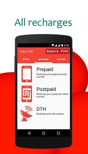 FreeATM: Free Recharge for PC