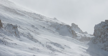 Photo: Wind shifting the snow!