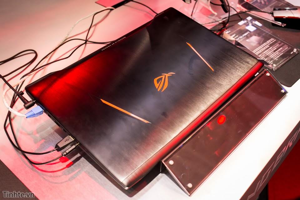 [Computex 2016] Trên tay bộ đôi laptop chơi game ASUS RoG Strix GL502VT và GL702VT