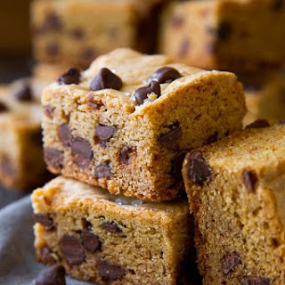 Soft & Chewy Chocolate Chip Cookie Bars.