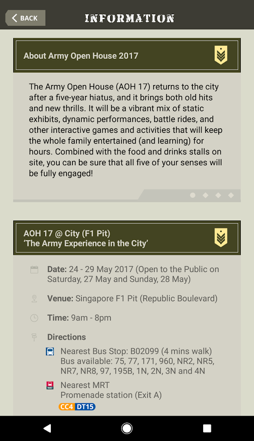Army Open House 2017- screenshot