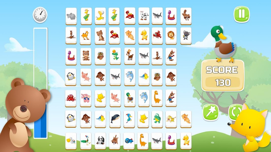 Connect Animals : Onet Kyodai (puzzle tiles game)
