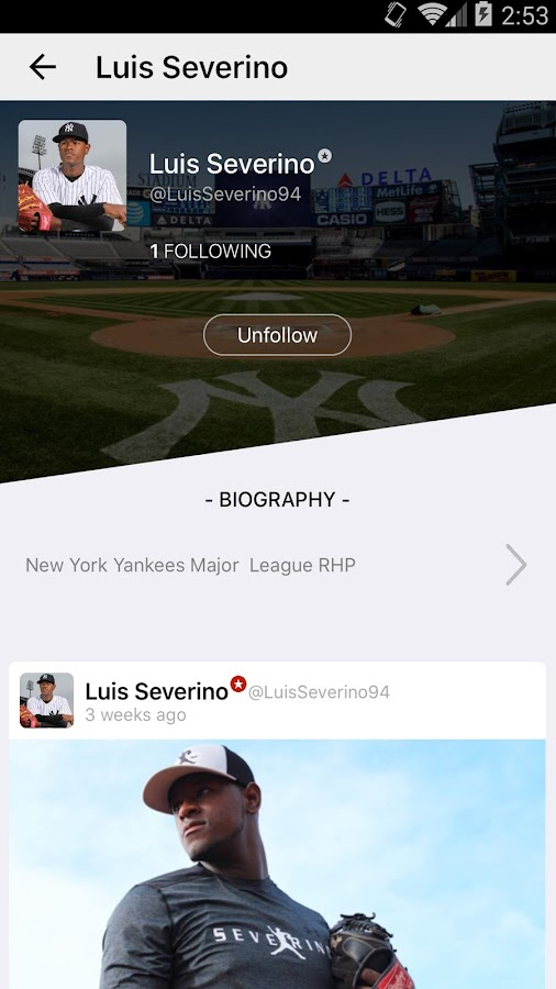 Infield Chatter- screenshot