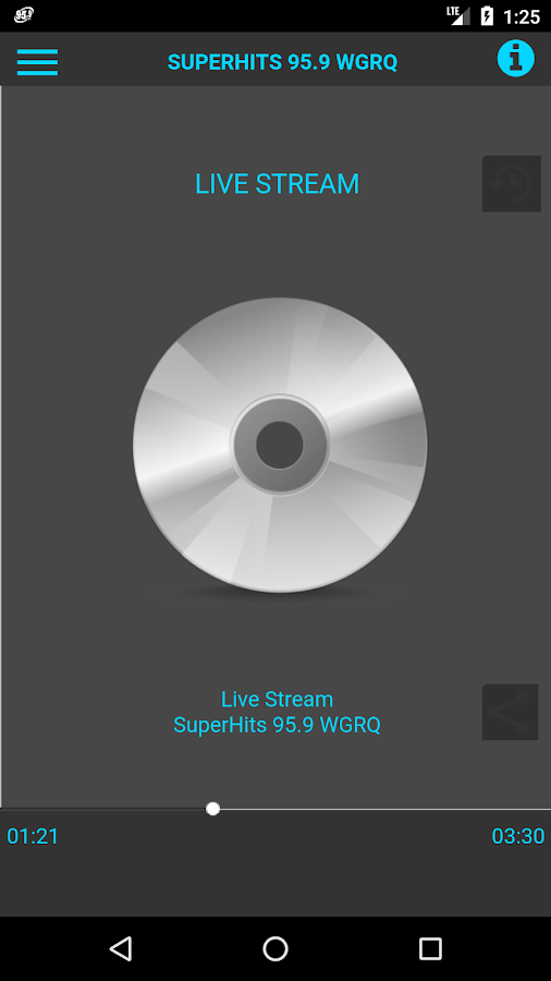 Superhits WGRQ- screenshot