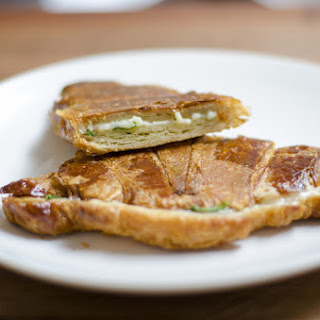Croissant Grilled Cheese Recipes.