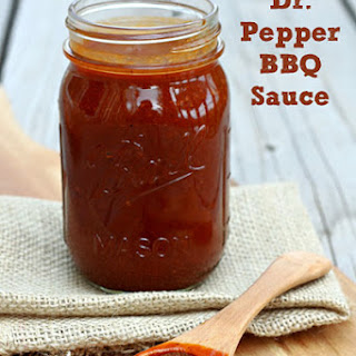 Dr. Pepper Barbecue Sauce
