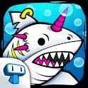 Shark Evolution: Mutant Crazy Merge Clicker Idle icon