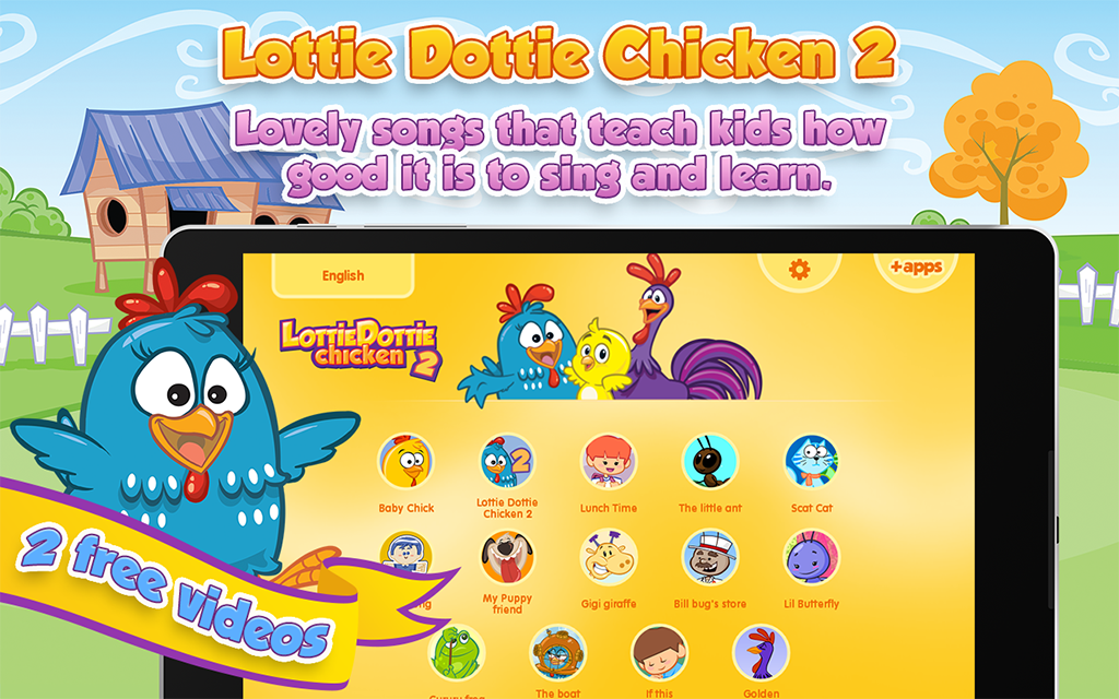 Lottie Dottie Chicken- screenshot
