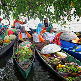 Floating Markets by Lay Sulaiman - City,  Street & Park  Markets & Shops (  )