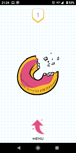 Donut Language Game screenshot 1