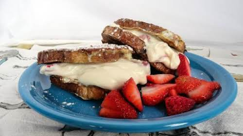 "Fruit Stuffed French Toast ""I could just eat the filling for this..."