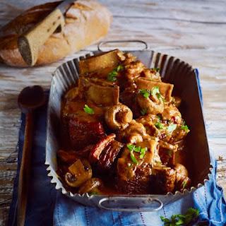 Slow-cooked Beef Rib Bourguignon