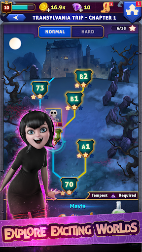 Hotel Transylvania: Monsters! - Puzzle Action Game 1.6.2 screenshots 4