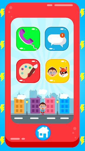 Baby Superhero Phone apktram screenshots 6