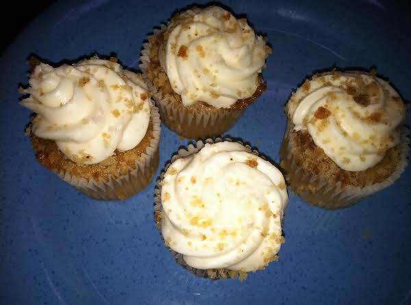 I Made Mini Cup Cakes With Your Grandmother's Recipe!  They Came Out Very Good And Moist.