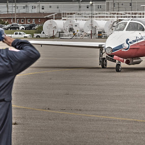 I Salute You by Randy Burt - Transportation Airplanes