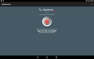 Screenshot of DavDrive Lite