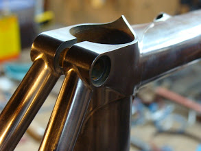 Photo: Stainless stays and lug with tidy fillets.