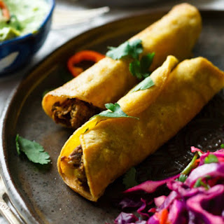 Easy Vegan Taquitos