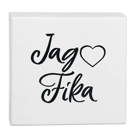 Tavla Jag Älskar Fika