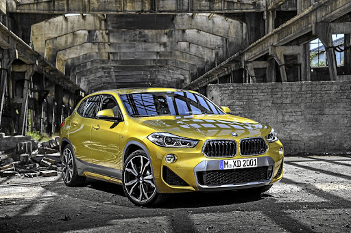 The BMW X2 will arrive in SA with various new colours and styling packages