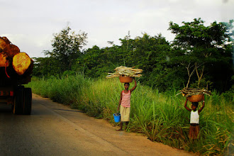 Photo: Local people