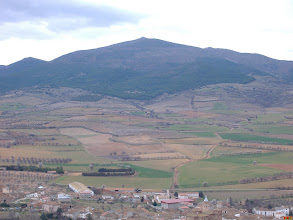Photo: Vista de Atea y Cerro de Santa Cruz (enviada por Cesar Estella)
