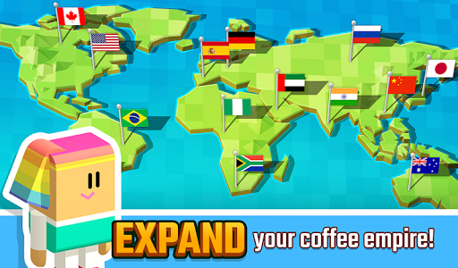 Screenshot for Idle Coffee Corp in United States Play Store
