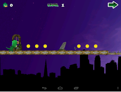 Pyja Jump Mask Night Runner screenshot
