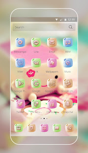 Marshmallow Candy Face Theme 2