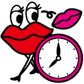ANAP GiRL-Jolly Lip Clock