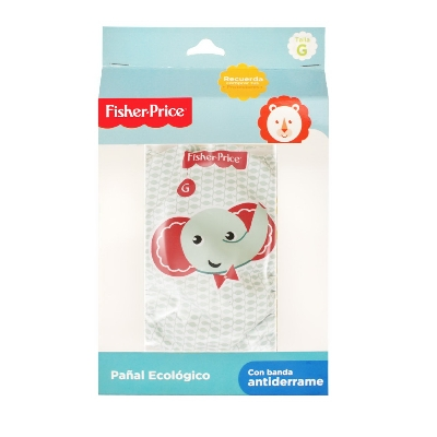 pañal ecologico fisher price g