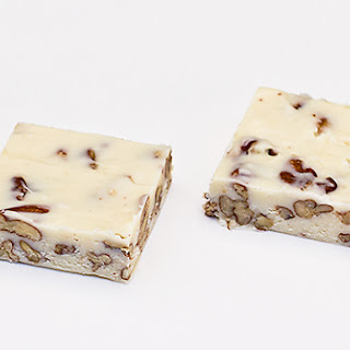EASY BOURBON PECAN FUDGE
