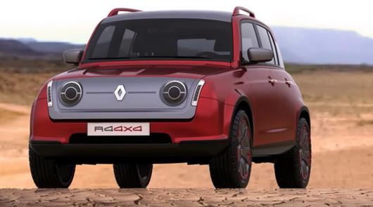 Syrsa muestra más imágenes del Renault 4Ever