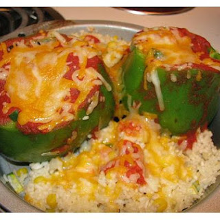 Peppers Stuffed With Spiced Cheese.