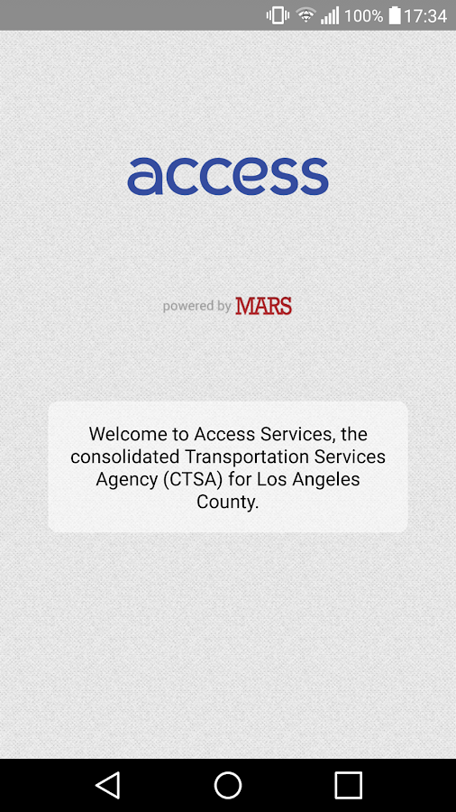 Access Services LA - Beta- screenshot
