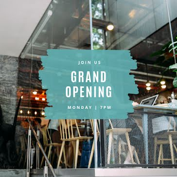 Join Us Grand Opening - Instagram Carousel Ad Template
