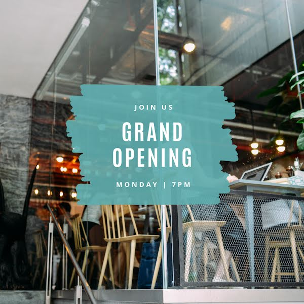 Join Us Grand Opening - Instagram Post Template