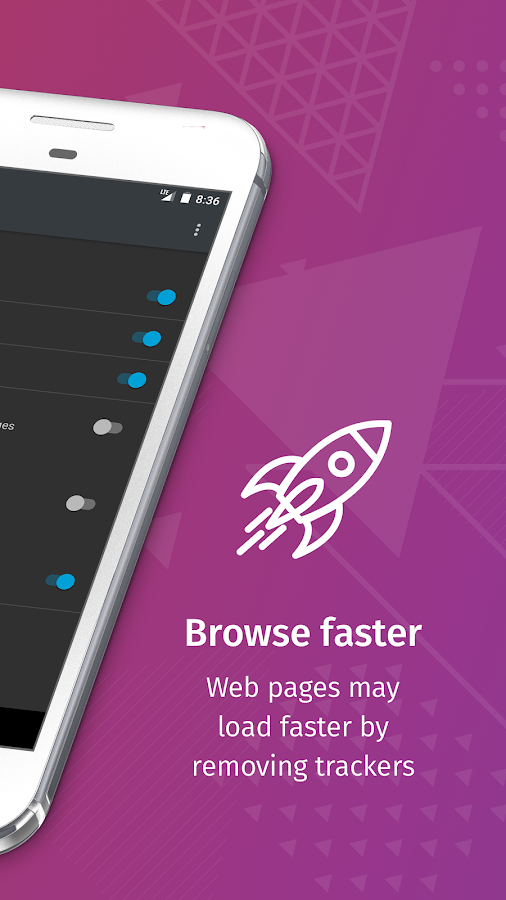 Firefox Focus: The privacy browser- screenshot