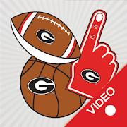 Georgia Bulldogs Animated Selfie Stickers