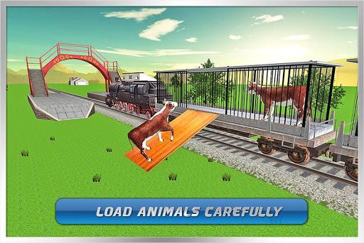 輸送列車:農場の動物