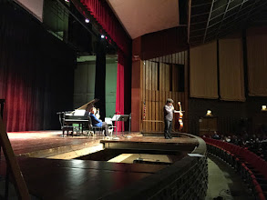 Photo: Atar Trio - View from Mt Nebo - USA Tour 2015 - Concert and master classes at the Wirt Emerson High School in Gary, Indiana - Photo: Michael Steinberg