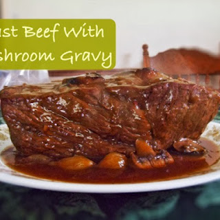 Roast Beef With Mushroom Gravy Sauce Recipes